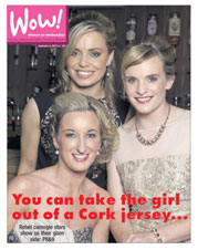 Camogie gorgeous stars on the cover by Polina Clarke Photography